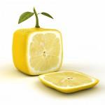 Quadratische Zitrone - Umdenken